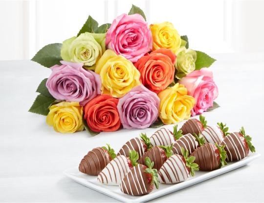 Multi Roses & Berries