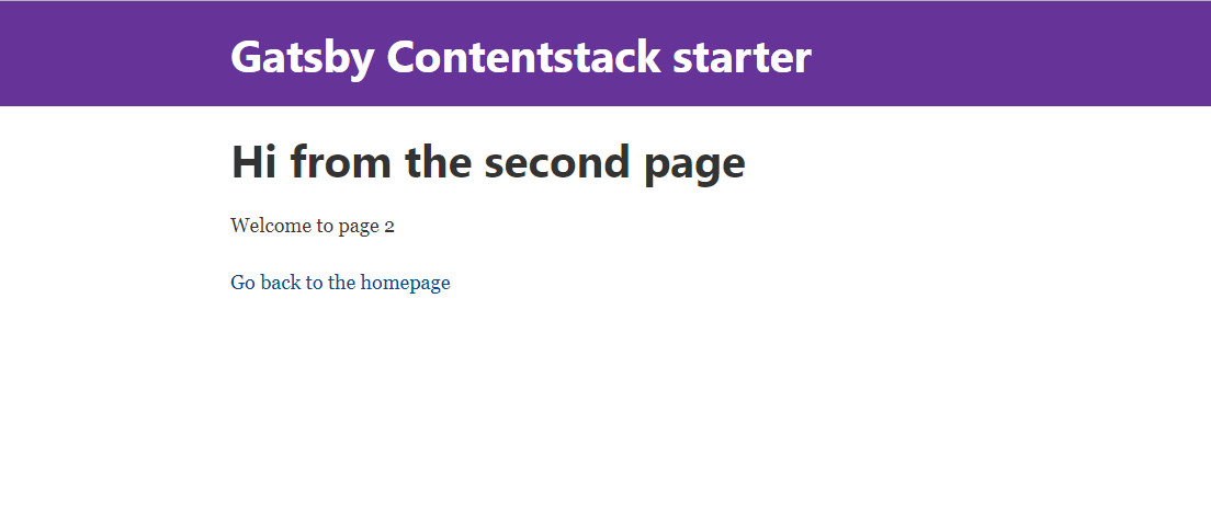 Gatsby Contentstack Starter Page 2.png