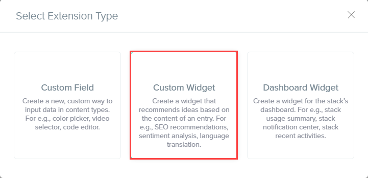 Select Extension Type - Custom Widget.png