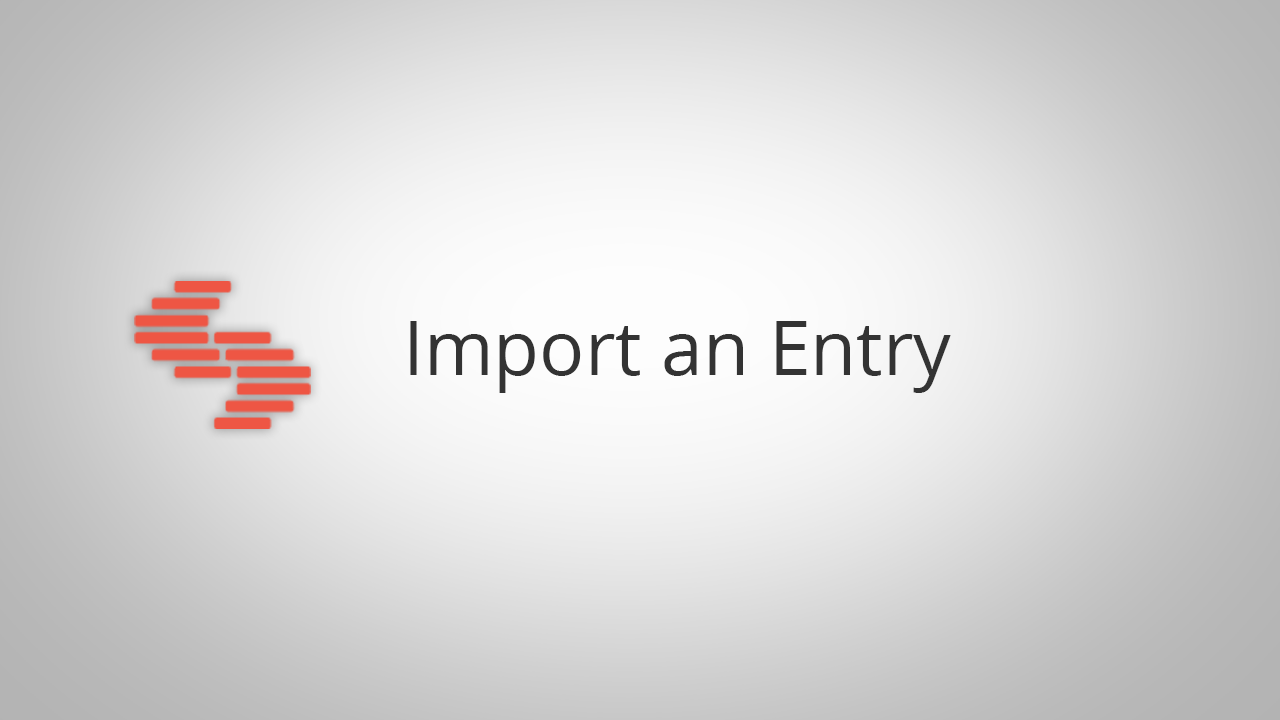 Import_an_Entry