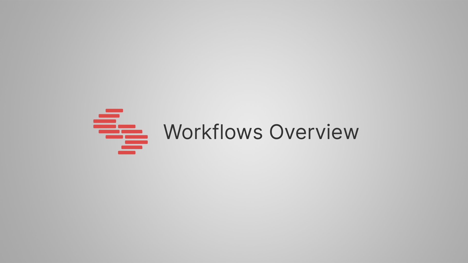 About Workflows