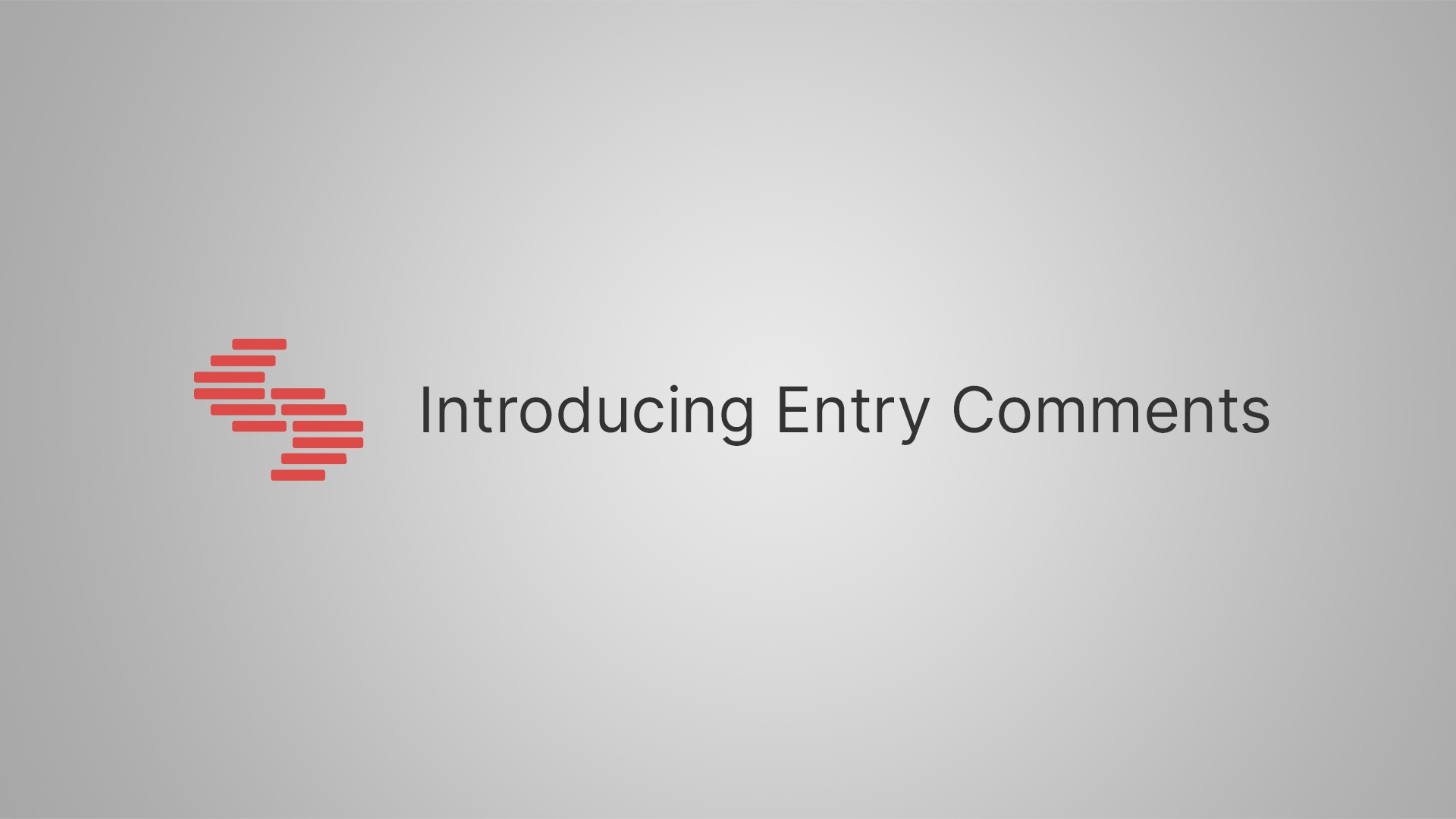 How to use Entry Comments