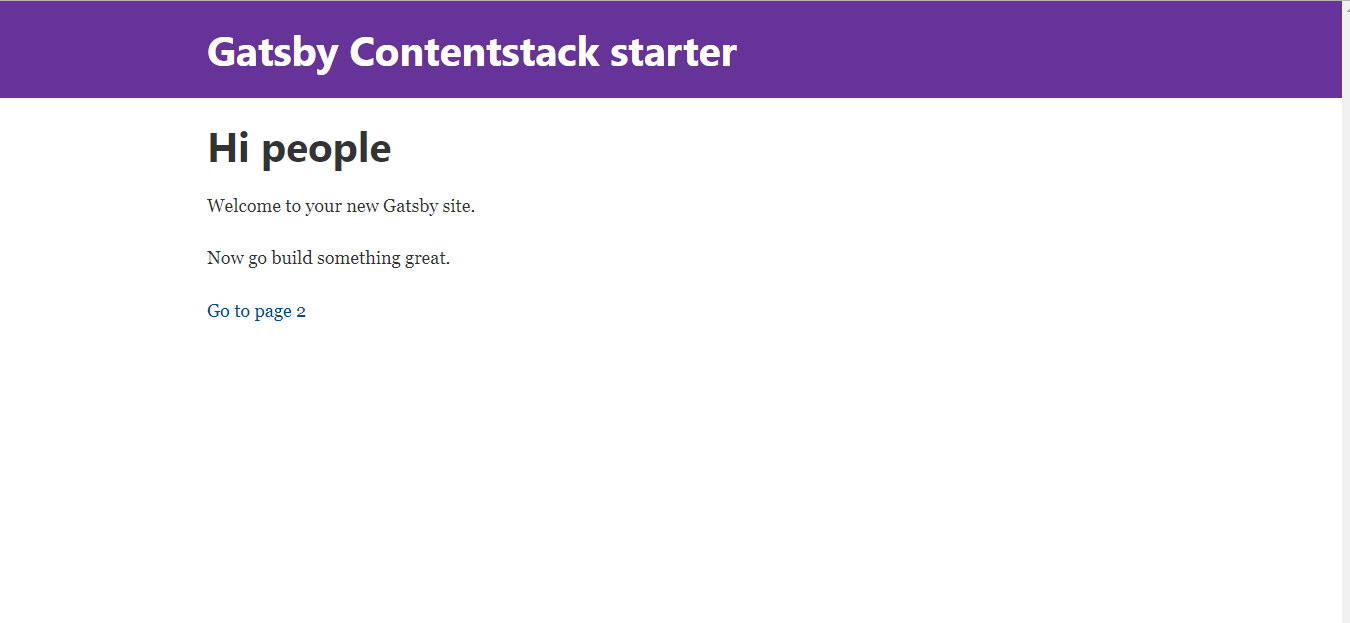 Gatsby Contentstack Starter Page 1.png