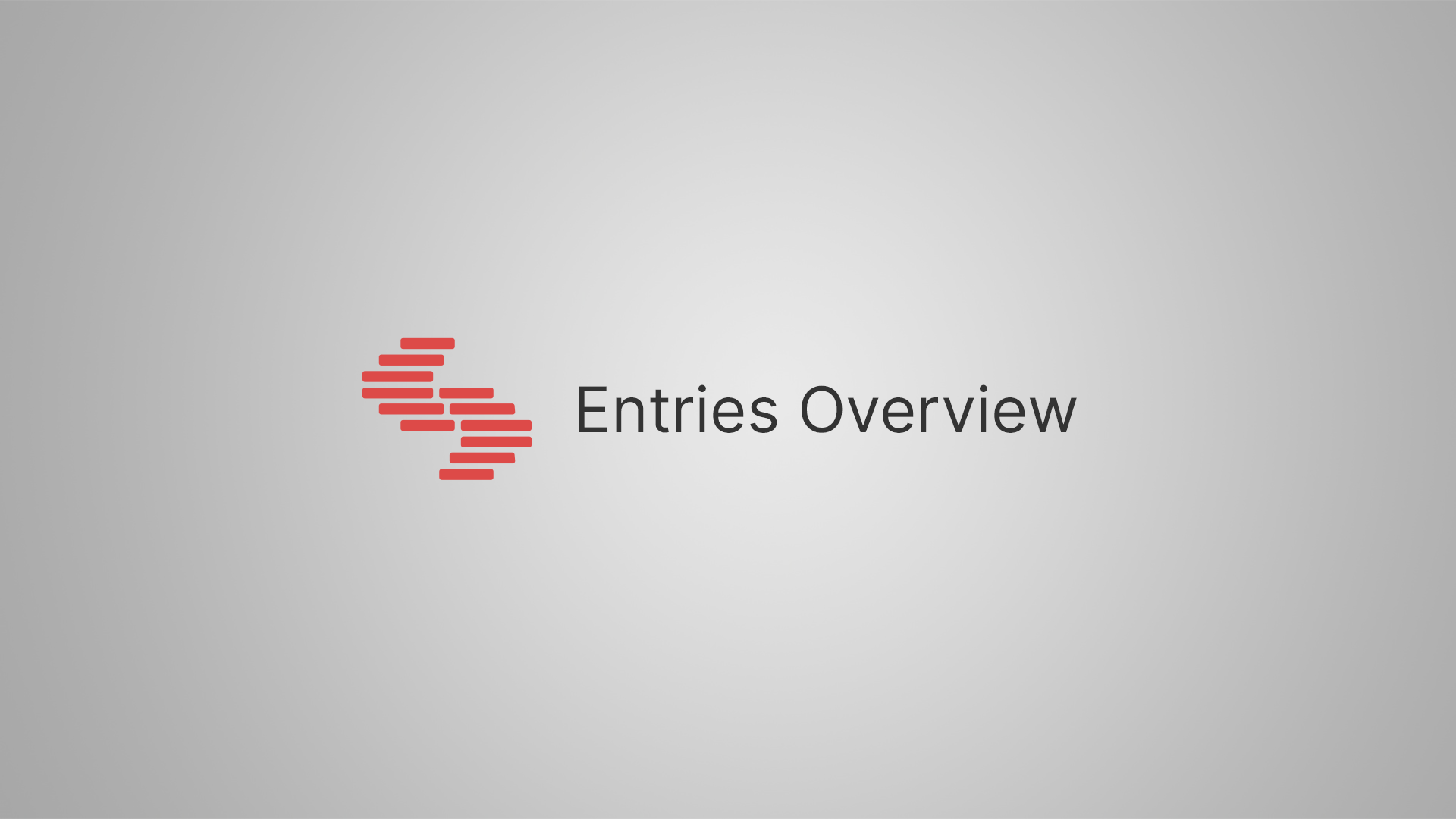About Entries