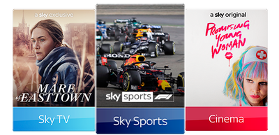Sky TV, Cinema & Sports