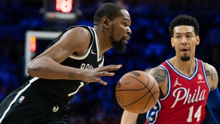 Kevin Durant's triple-double rallies Nets past 76ers 114-109