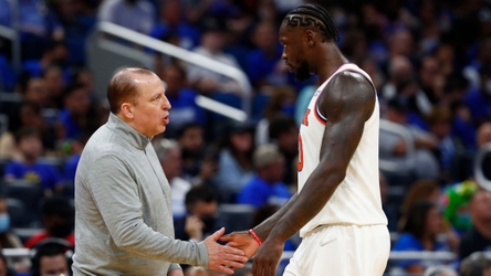 Knicks' Tom Thibodeau explains Julius Randle's extended minutes in blowout win over Magic
