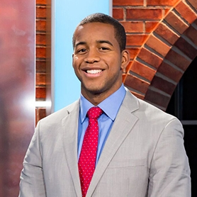 Chris Williamson joined SNY as a sports anchor, host, and reporter in November of 2018. He contributes to the networks sports & entertainment news programs as well as SNY.tv.  Williamson, a DC native, most recently came from the nation's capital where he worked as a sports anchor/ feature sports reporter for WUSA9. There, he covered the Washington Redskins, the Wizards, the MLB All-Star Game, and the Capitals' Stanley Cup title run in 2018.  Before that, Williamson was a weekend and weekday sports anchor at WSAW/WZAW-TV in Wausau, Wisconsin. During his time there from 2015-2017, he won best sportscast by the Wisconsin Broadcaster's Association. In addition to local high school sports, he covered the Wisconsin Badgers' 2015 run to the Final Four and title game just four weeks on the job. He also reported on the Motown Miracle by Aaron Rodgers and the Packers.  Williamson graduated from Syracuse University at the Newhouse School of Communications with a B.A. in broadcast and digital journalism. He is the son of the late Tom Williamson Jr. who helped develop the Rooney Rule.