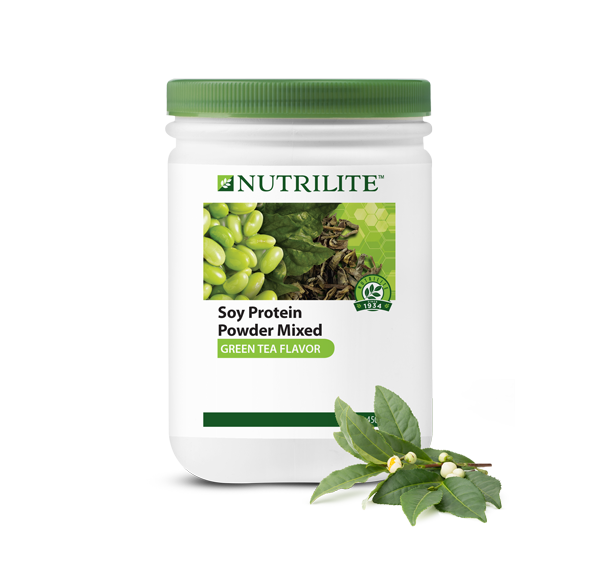 Nutrilite Soy Protein Drink Mix (Green Tea Flavour)