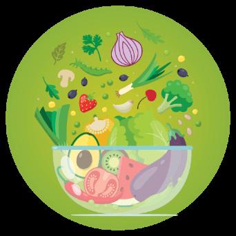 เพิ่มผักและผลไม้
