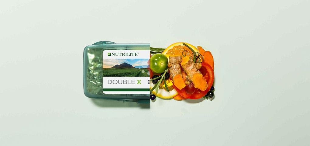 为何选择 Nutrilite Double X?