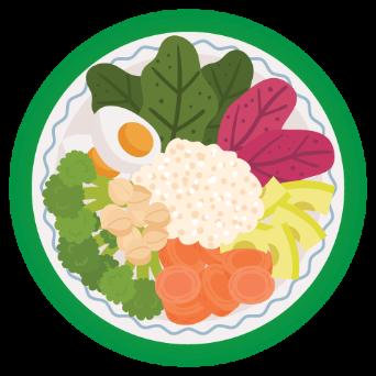 เพิ่มใยอาหาร คาร์โบไฮเดรตเชิงซ้อน และโปรตีนจากพืช
