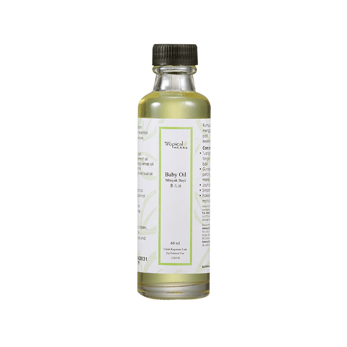 Tropical Herbs Baby Oil (60ml)
