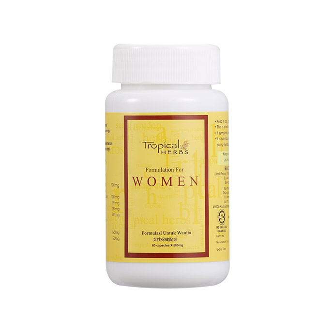 Tropical Herbs Formulation for Women (60 cap)