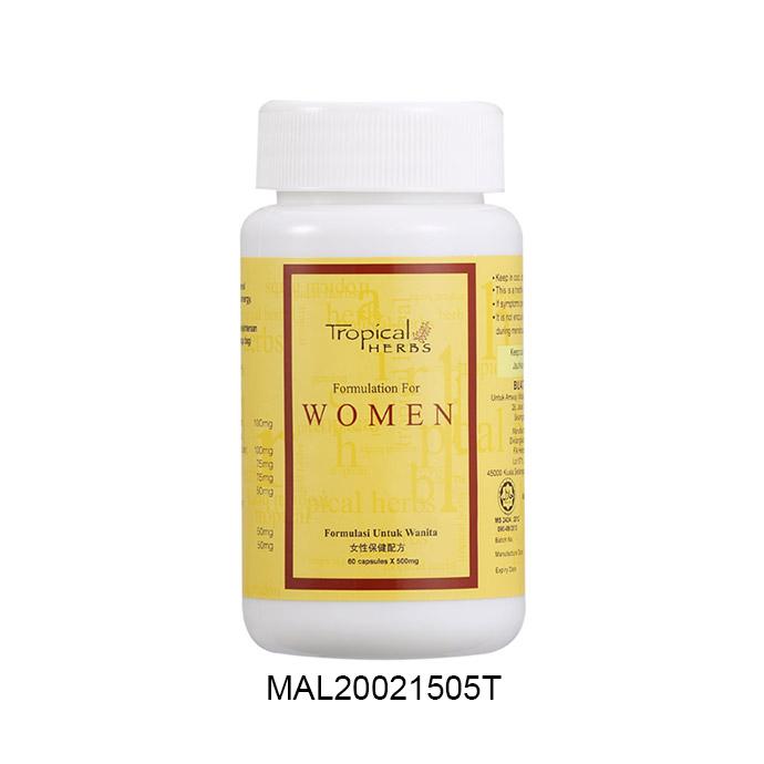 Tropical Herbs Formulation for Women (60 cap)
