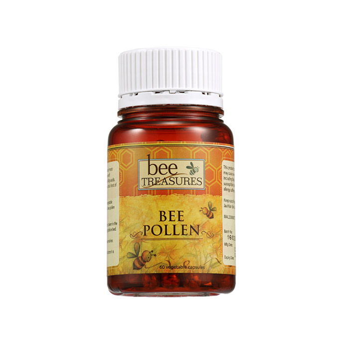 Bee Treasures Bee Pollen (60 veg cap)