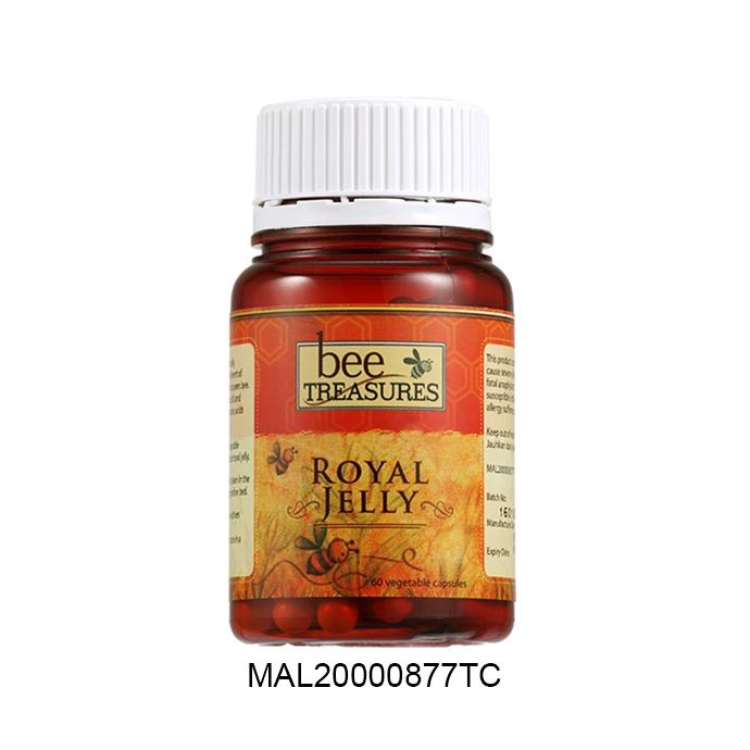 Bee Treasures Royal Jelly (60 veg cap)