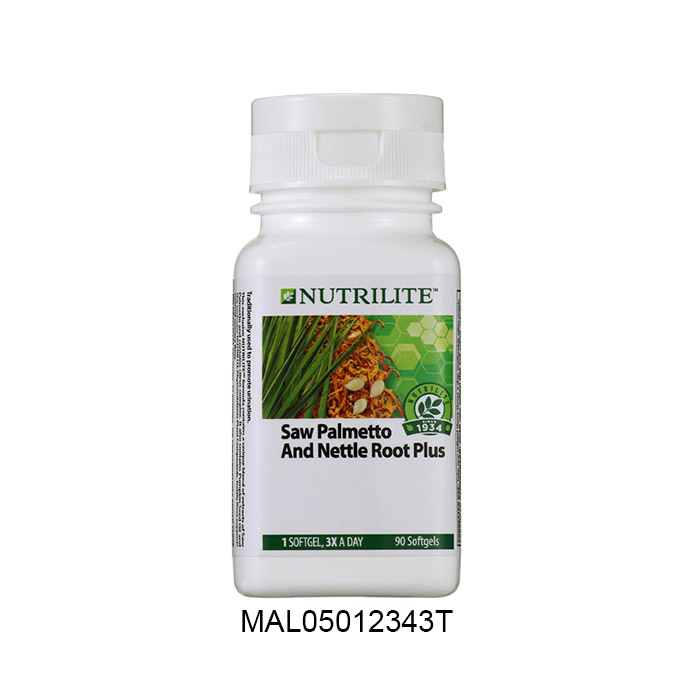 Nutrilite 锯棕榈和寻麻根 (90 颗胶囊)