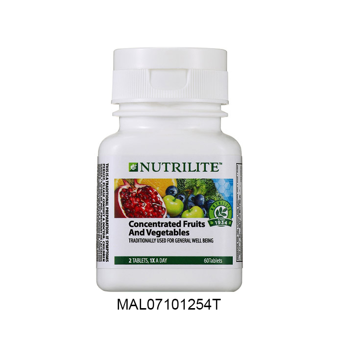 Nutrilite Concentrated Fruits and Vegetables (60 tab)