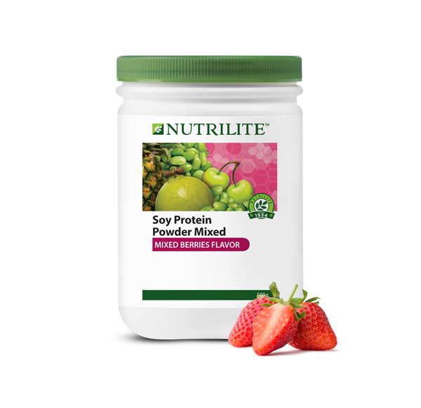 Nutrilite Soy Protein Drink Mix (Mixed Berries Flavour)