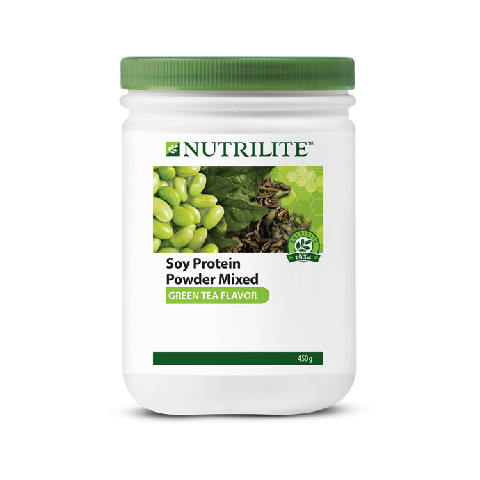 Nutrilite Soy Protein Powder Mixed (Green Tea Flavor) 450g
