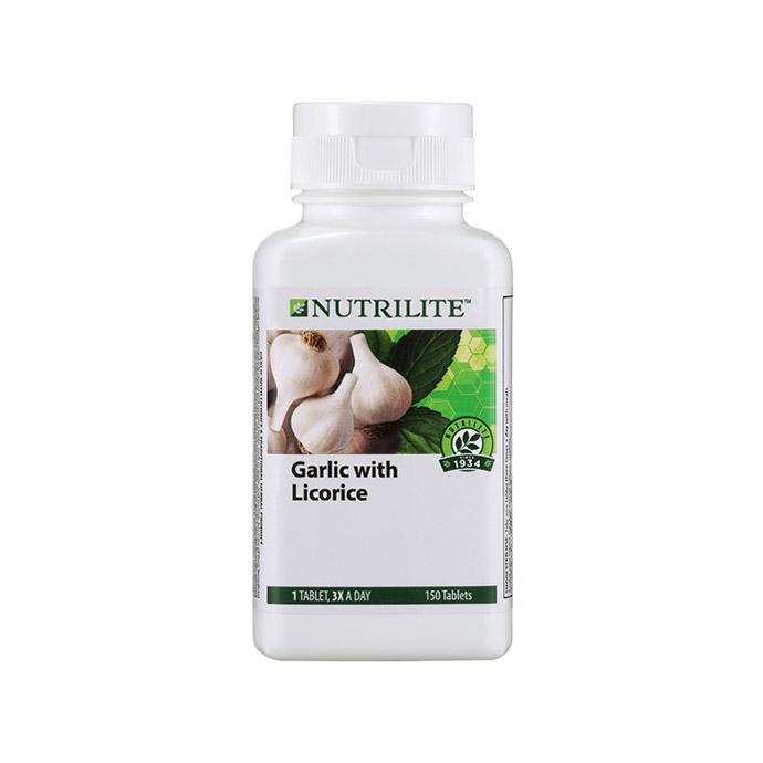 Nutrilite 大蒜和甘草 (150 粒)