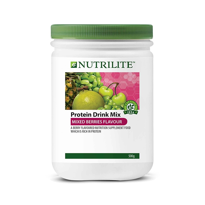 Nutrilite Protein Drink Mix (Mixed Berries Flavor) 500g