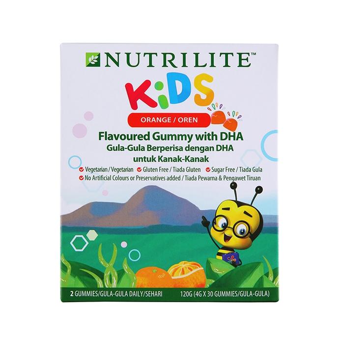 Nutrilite Kids Flavoured Gummy With DHA (4g X 30 Gummies)
