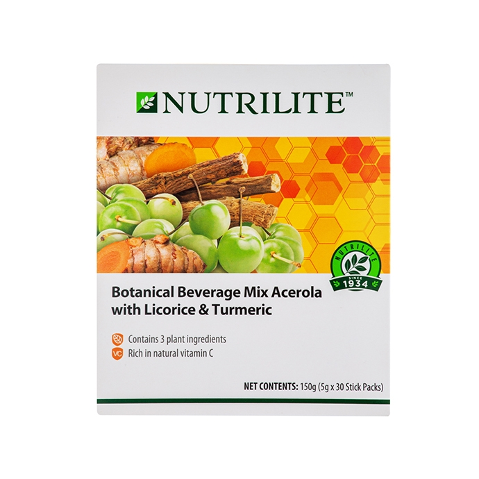 Nutrilite Botanical Beverage Mix Acerola With Licorice & Turmeric
