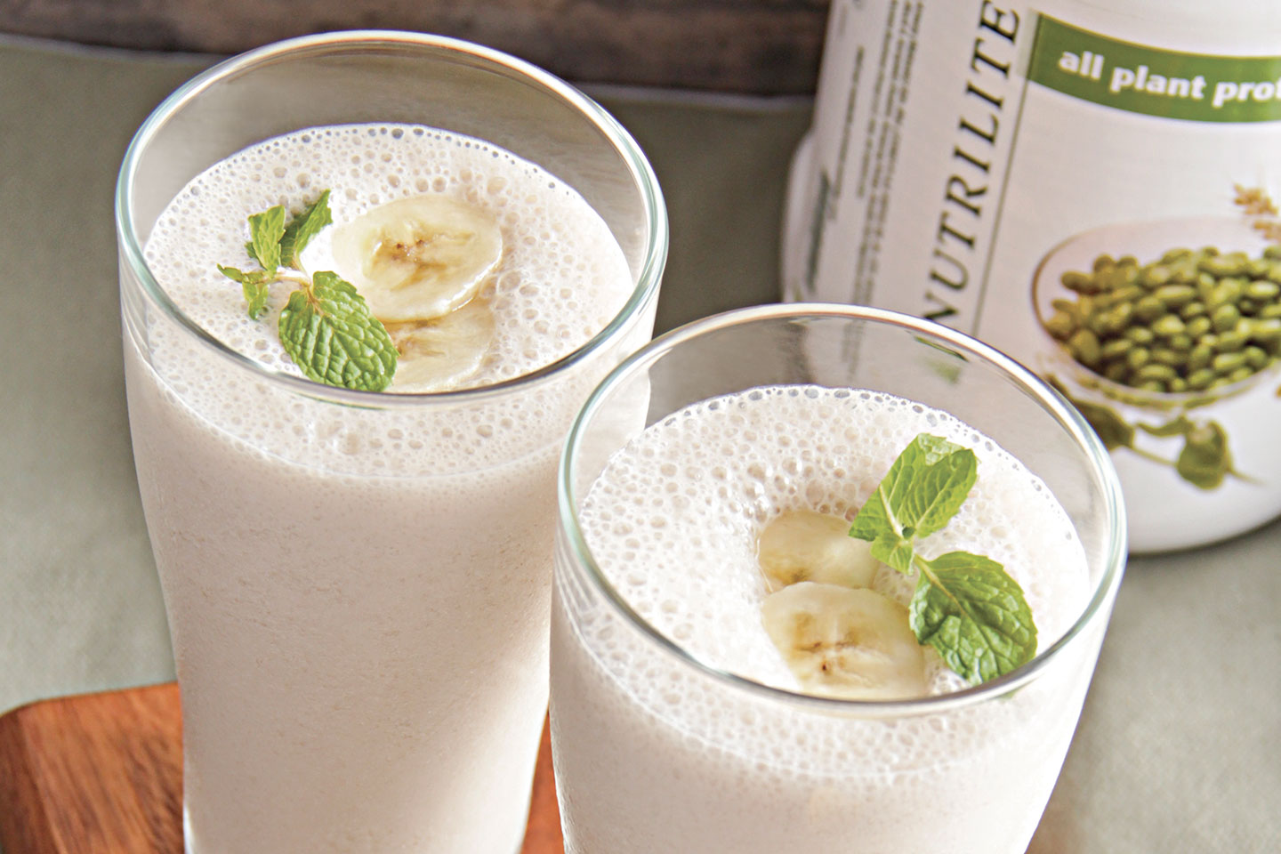 Banana Soy Milk Smoothie