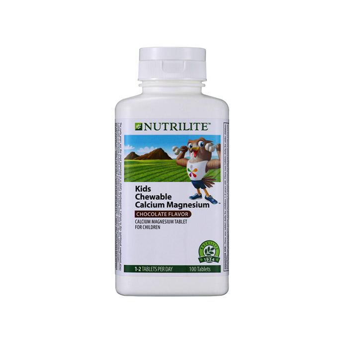 Nutrilite Kids Chewable Calcium Magnesium (100 tab)