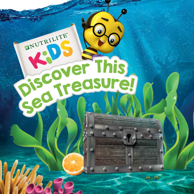Discover This Sea Treasure (DHA Gummy) eBooklet