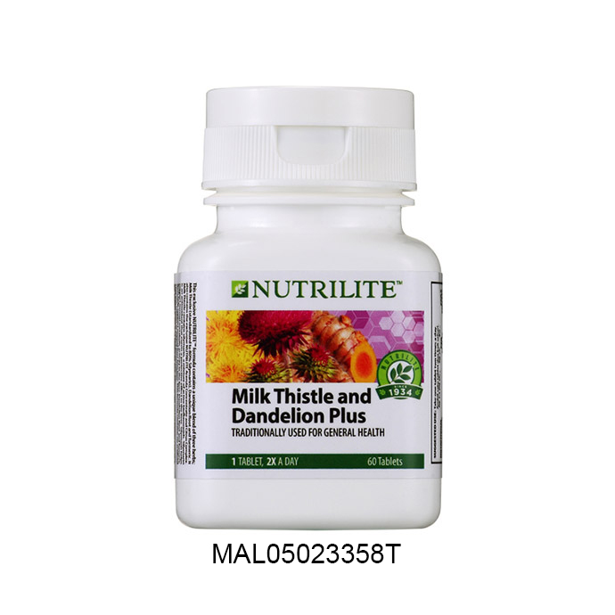 Nutrilite Milk Thistle and Dandelion Plus (60 tab)