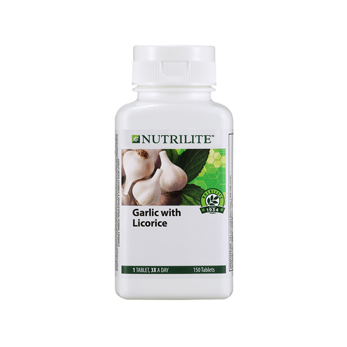 Nutrilite Garlic with Licorice (150 tab)