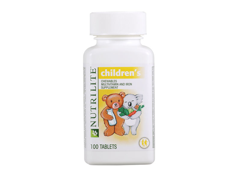Nutrilite Children Chewables Multivitamin and Iron (100 tab)