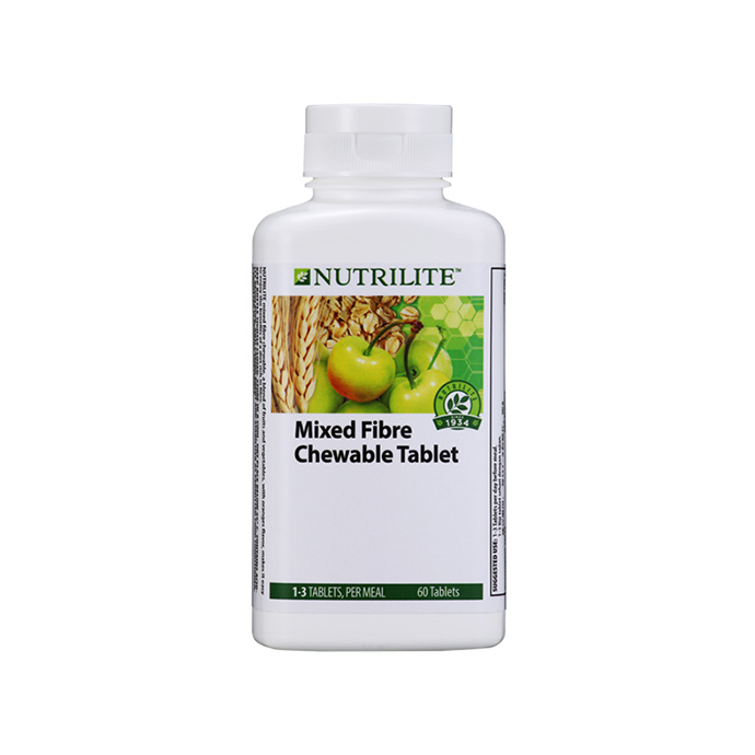 Nutrilite Mixed Fibre Chewable Tablet (60 tab)