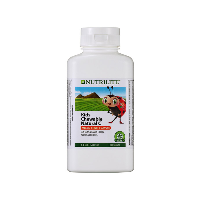 Nutrilite Kids Chewable Natural C (100 tab)