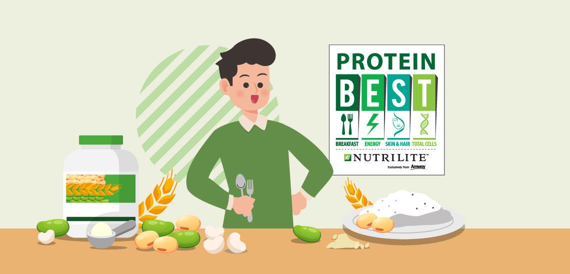 โปรตีน…สารอาหารจำเป็นที่ร่างกายขาดไม่ได้