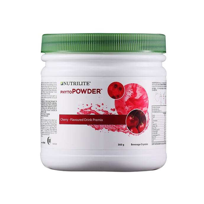 Nutrilite PhytoPOWDER Cherry- Flavoured Drink Premix Canister 360g