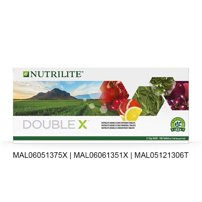 Nutrilite DOUBLE X - 补充装31天供应