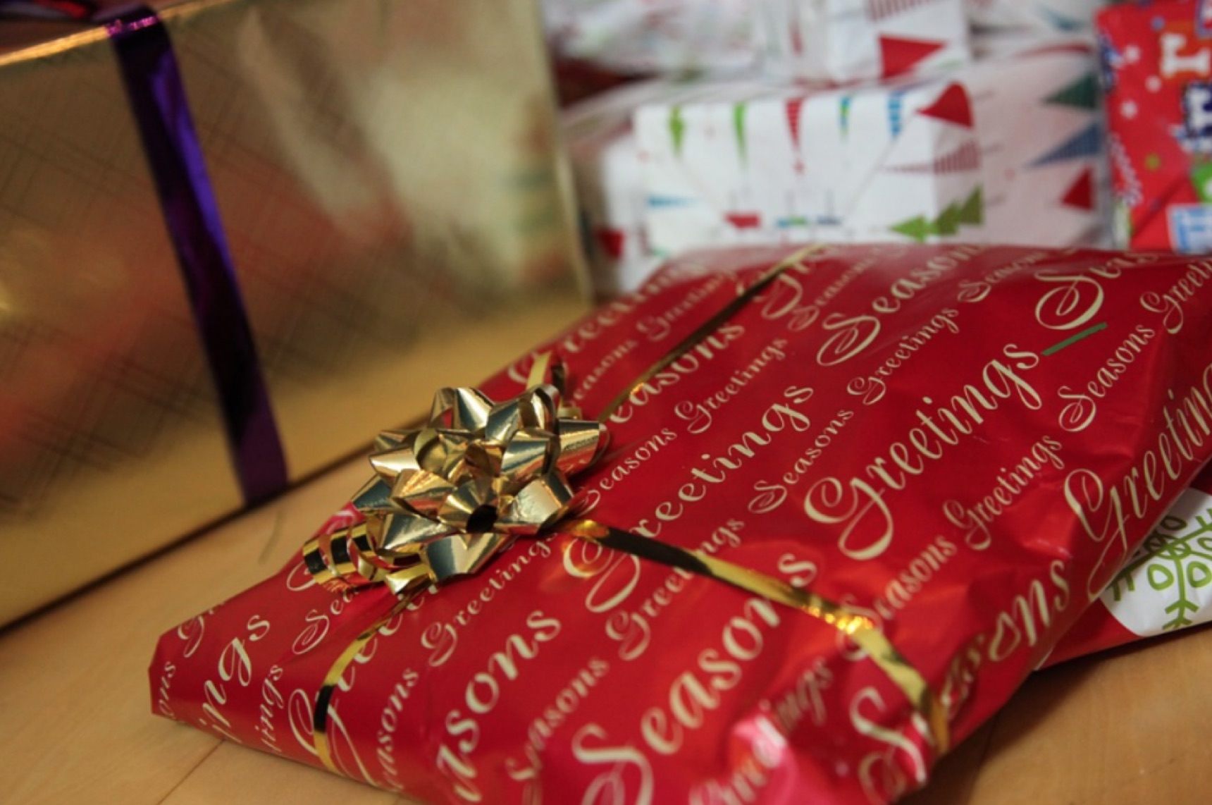 Gifts during the holiday season