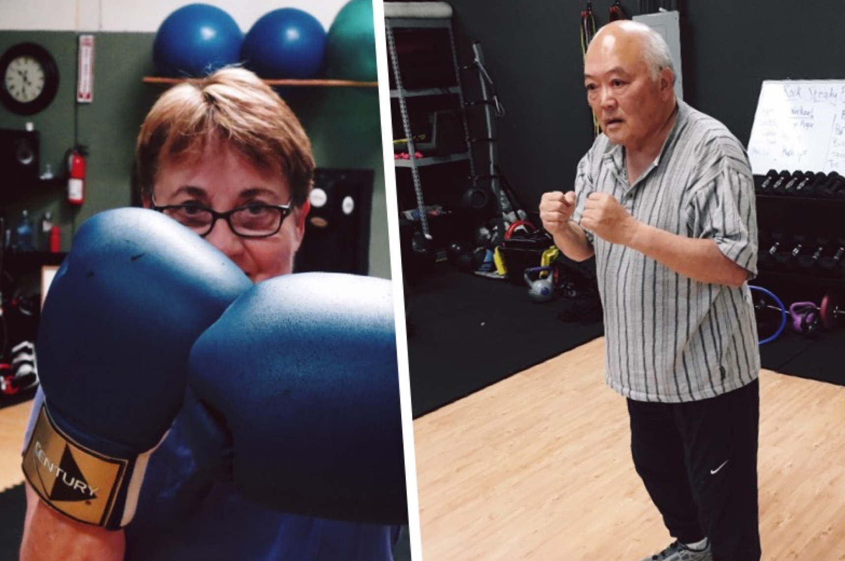 seniors boxing