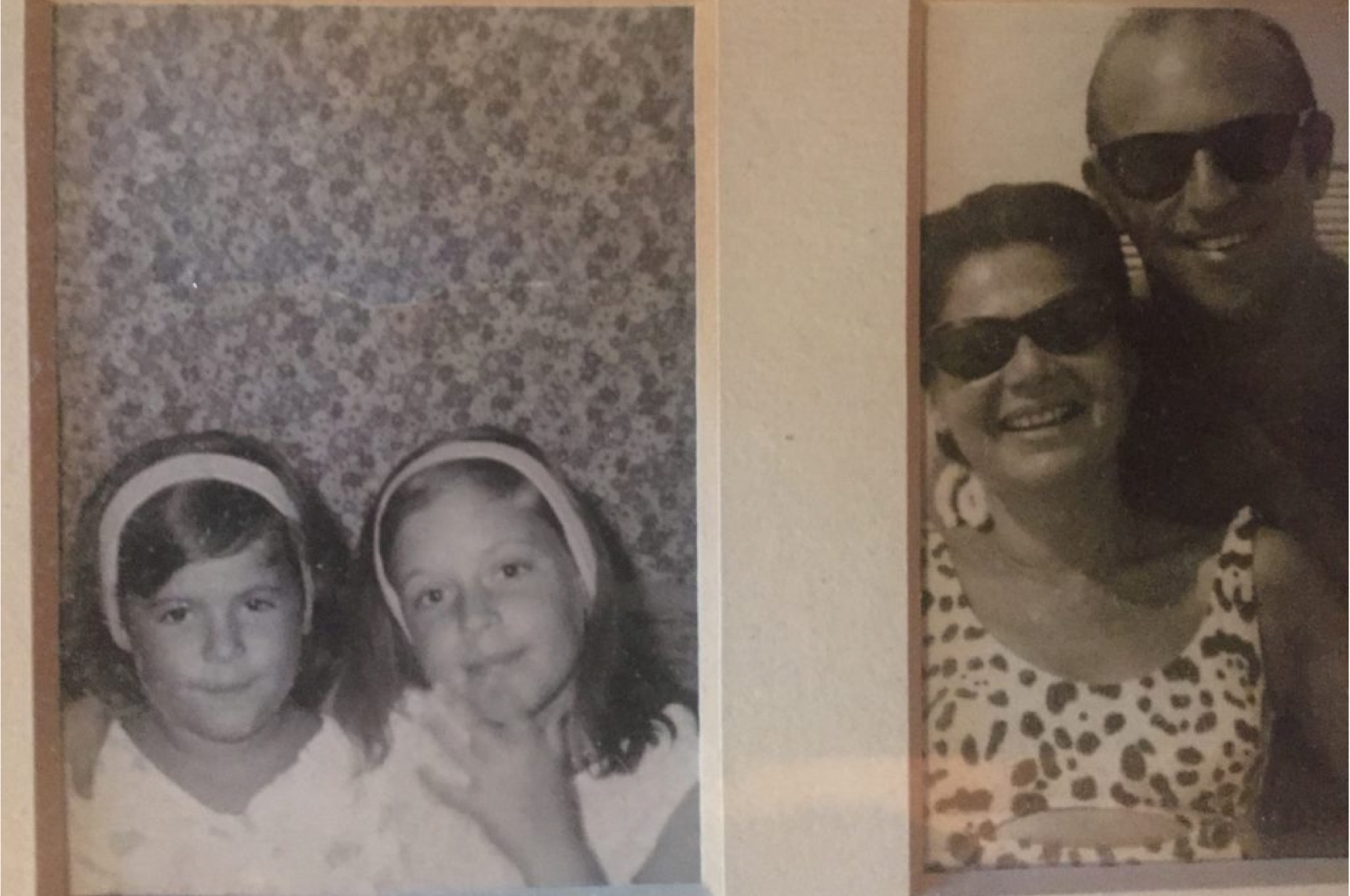 old photos of sisters and parents