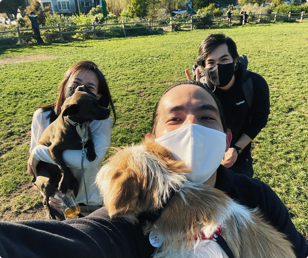 Engineering social distance gathering in SF dog park