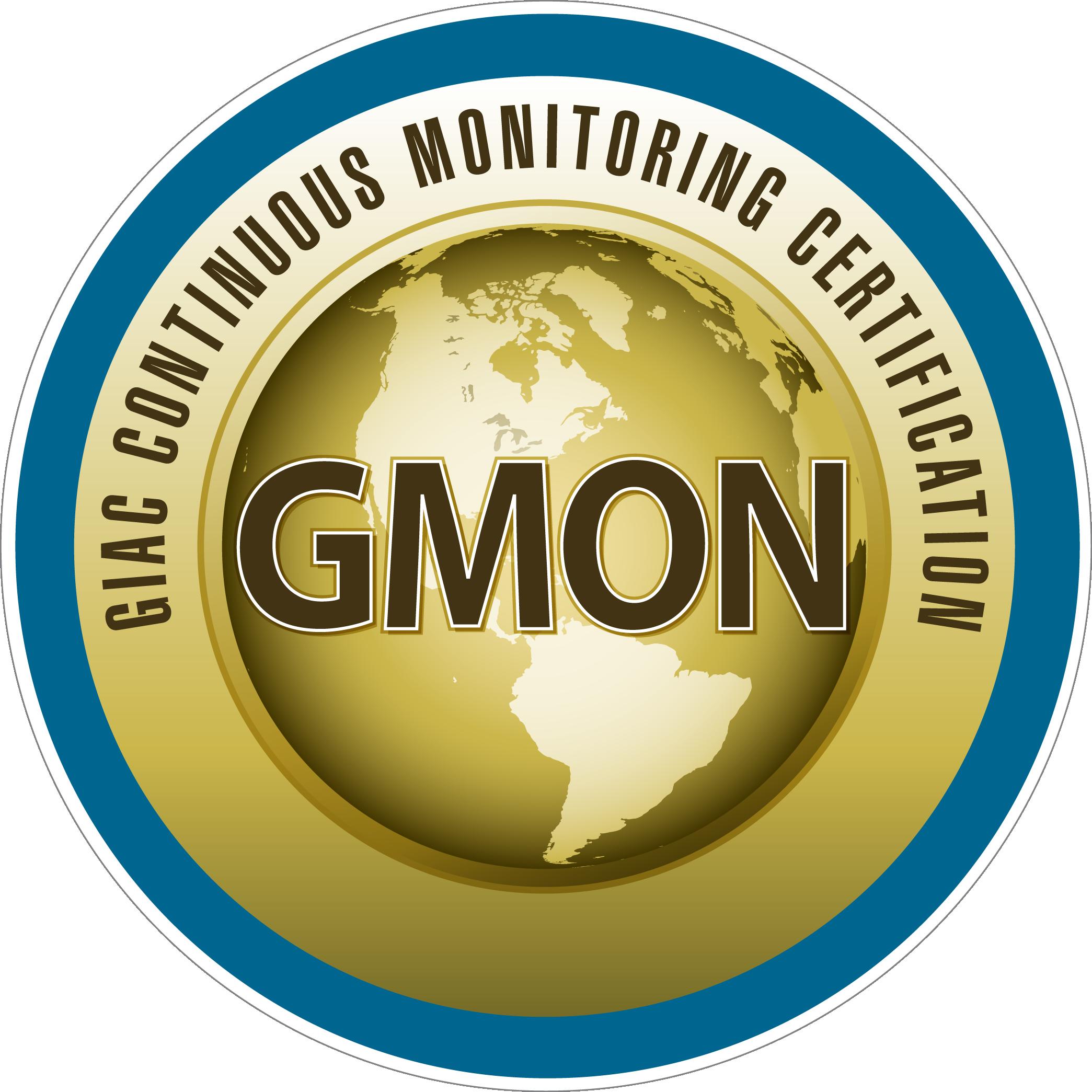 GIAC Continuous Monitoring Certification (GMON) icon