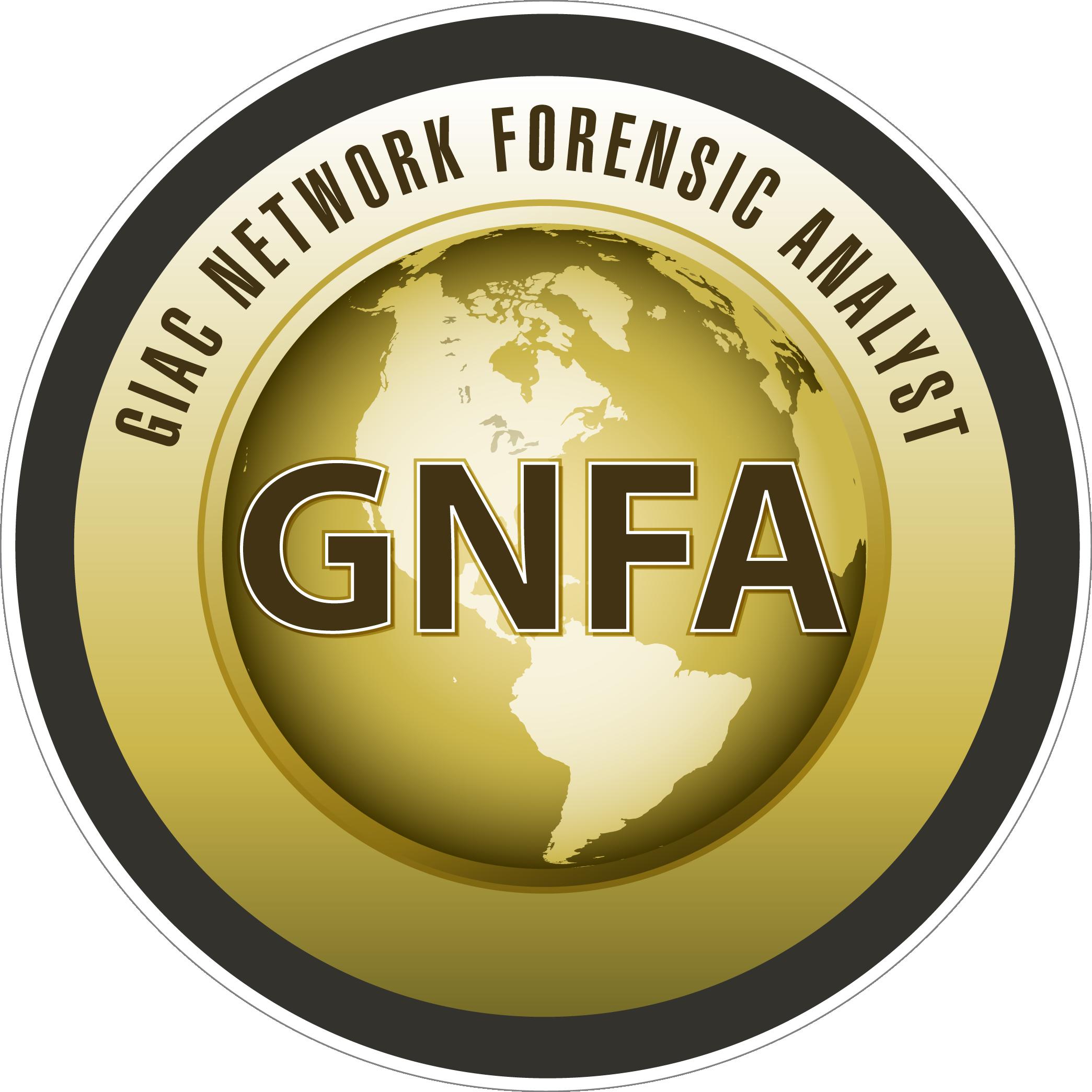 GIAC Network Forensic Analyst (GNFA) icon