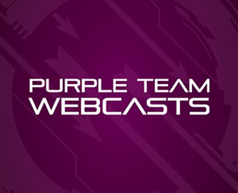 Purple Team Operations Graduate Certificate Webcast