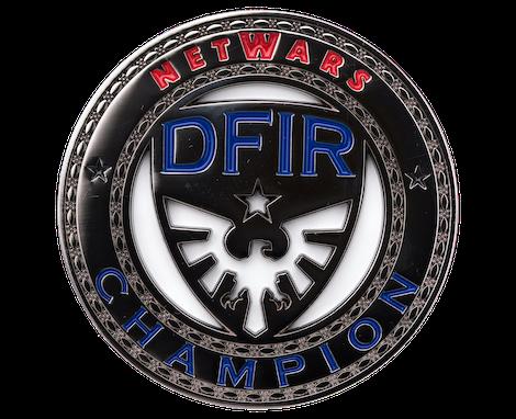 DFIR NetWars Coin