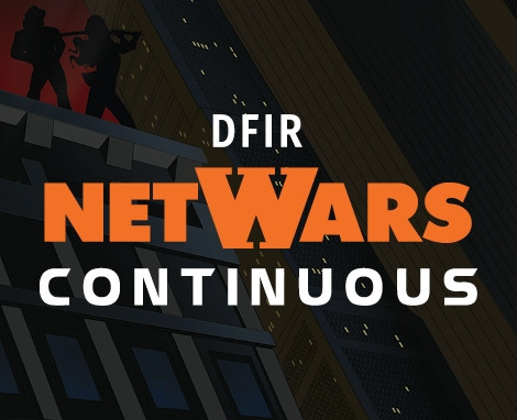 DFIR NetWars Continuous