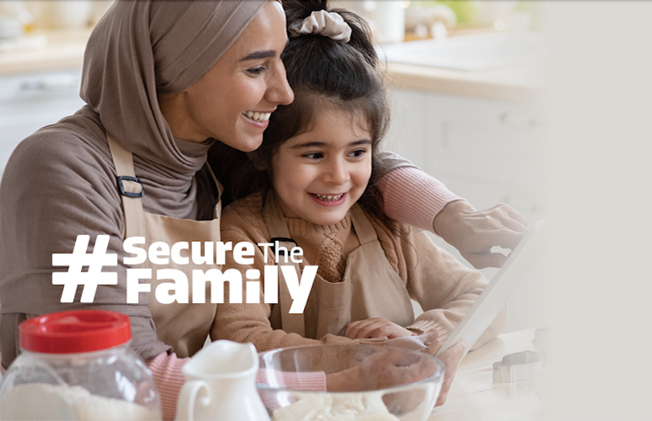 Secure the Family graphic